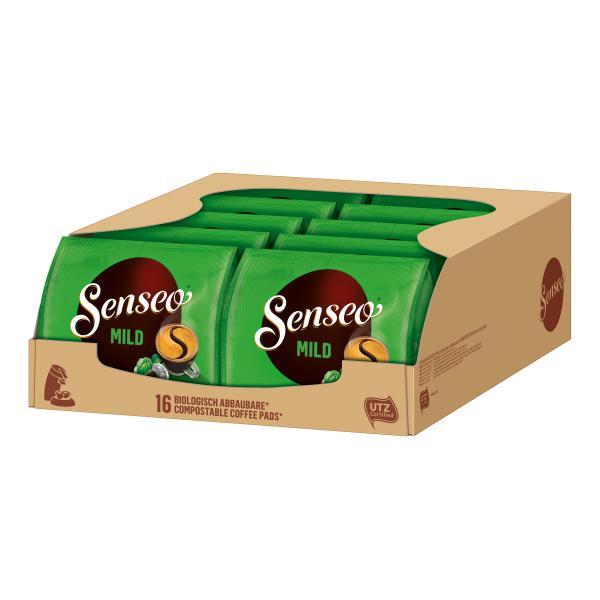 Senseo Pads Mild UTZ zertifiziert, 10 x 16 Kaffeepads
