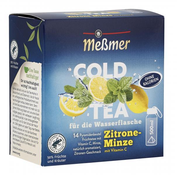 Meßmer Cold Tea Zitrone Minze