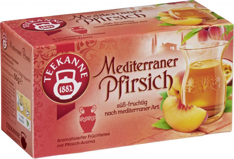 Teekanne Mediterraner Pfirsich