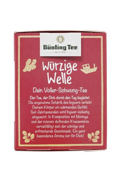 Bünting Tee Bio Würzige Welle