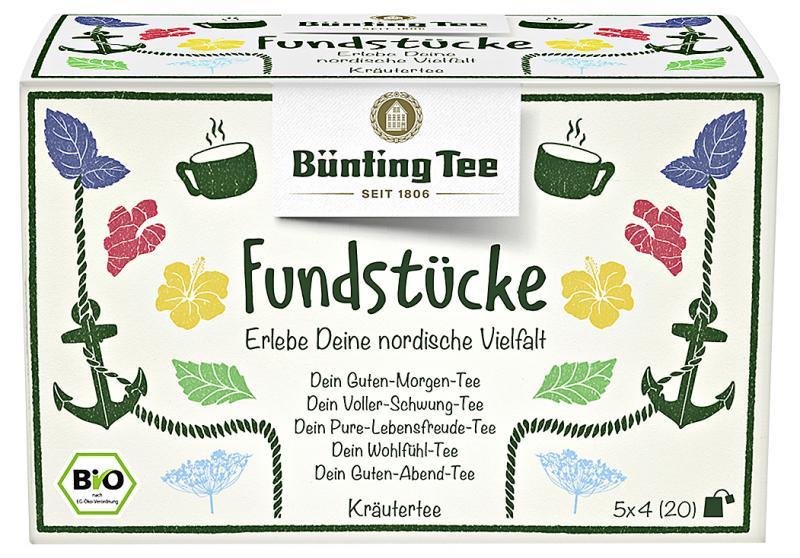 Bünting Tee Fundstücke Kollektionbox