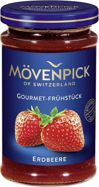 Mövenpick Gourmet-Frühstück Erdbeer