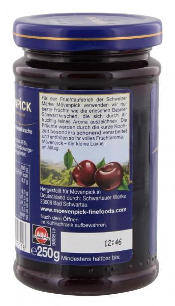 Mövenpick Gourmet-Frühstück Baseler Schwarzkirsche