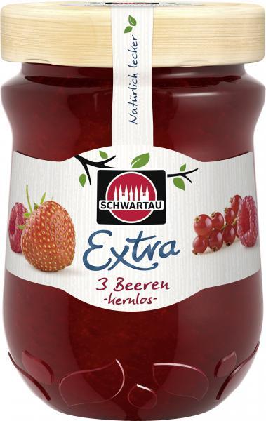 Schwartau Extra 3 Beeren kernlos