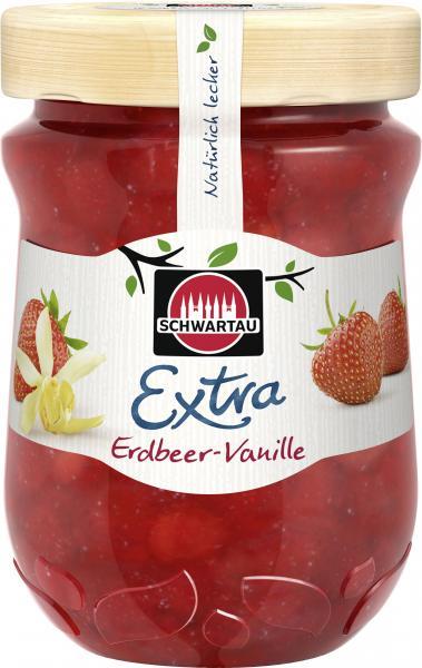 Schwartau Extra Erdbeer-Vanille