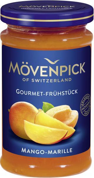 Mövenpick Gourmet-Frühstück Mango-Marille