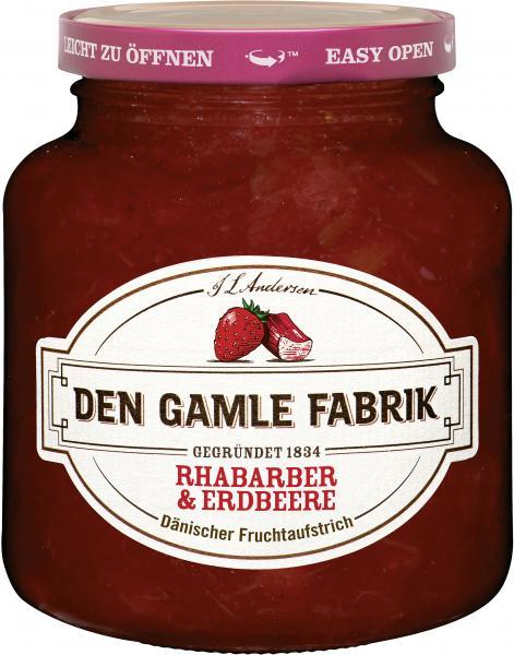 Den Gamle Fabrik Rhabarber & Erdbeere Fruchtaufstrich