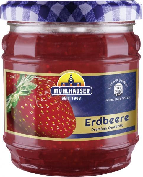 Mühlhäuser Erdbeer Konfitüre