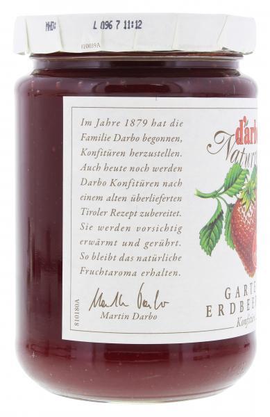 Darbo Naturrein Garten Erdbeeren