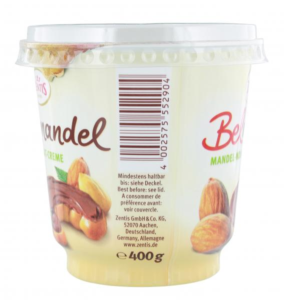 Zentis Belmandel Mandel-Nougat-Creme