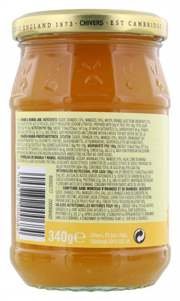 Chivers Smooth Brotaufstrich Orange Mango