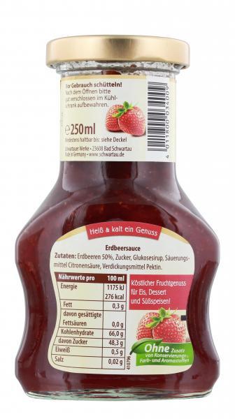 Schwartau Dessert Sauce Erdbeere