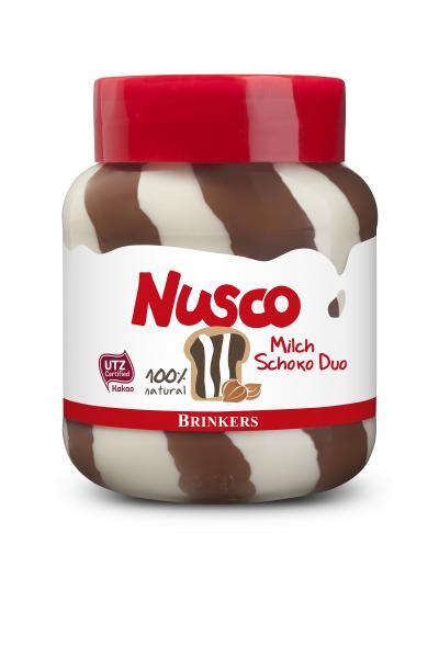 Nusco Milch & Nuss-Nougat Duo