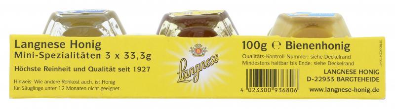 Langnese Honig Mini-Spezialitäten