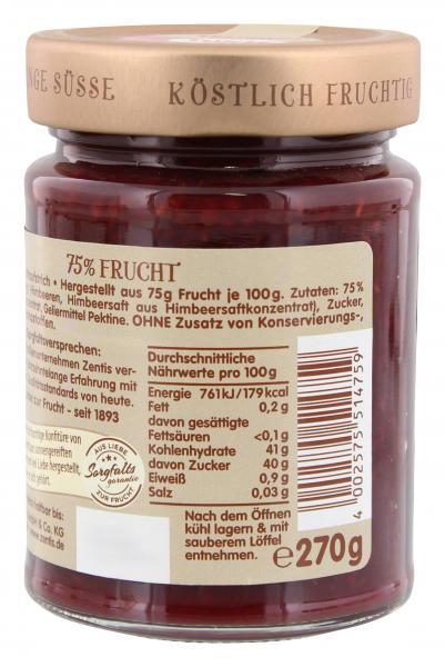 Zentis 75% Frucht Himbeere
