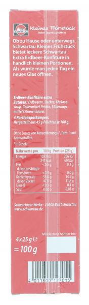 Schwartau Kleines Frühstück Erdbeere