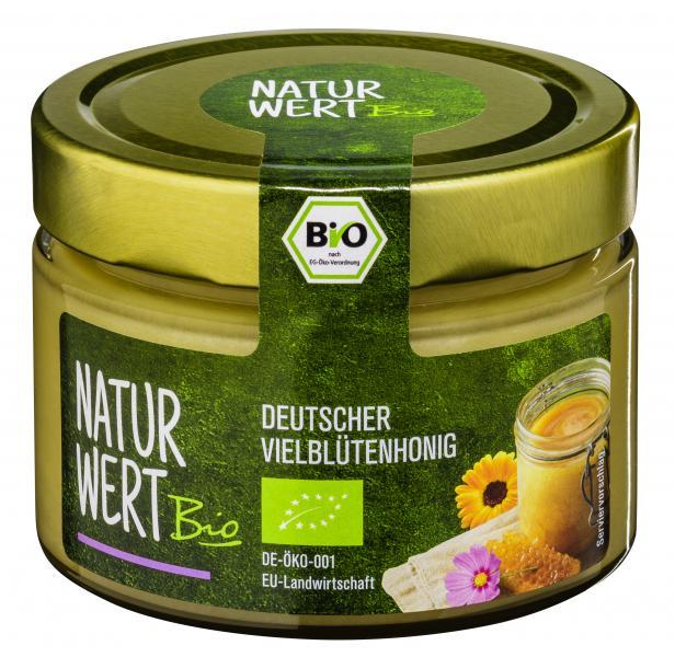 NaturWert Bio Deutscher Vielblütenhonig cremig