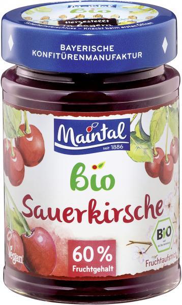 Maintal Bio Sauerkirsche Fruchtaufstrich