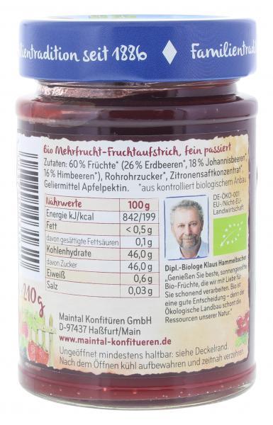 Maintal Bio Gartenfrüchte Fruchtaufstrich
