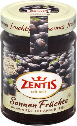 Zentis Sonnen Früchte schwarze Johannisbeere