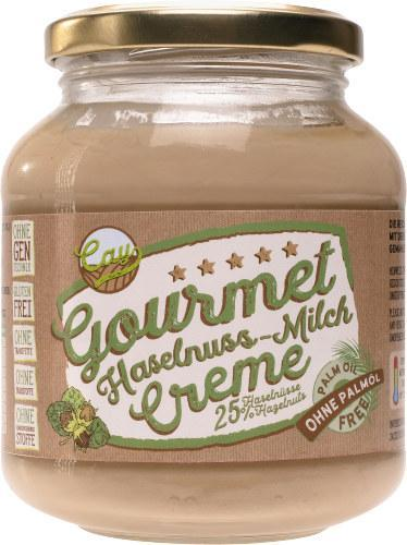 Cay Gourmet Haselnuss-Milch Creme