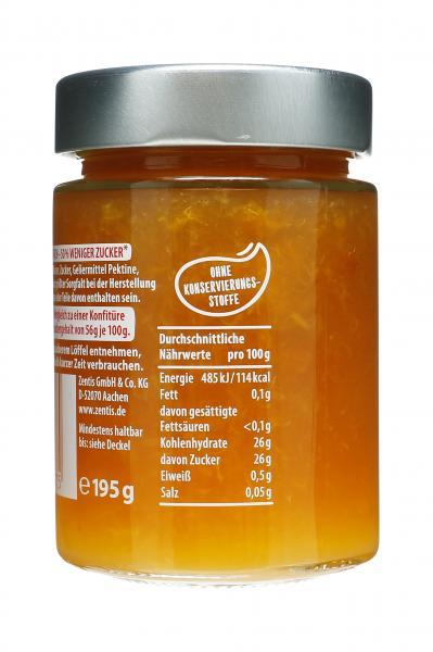 Zentis 50% weniger Zucker Aprikose