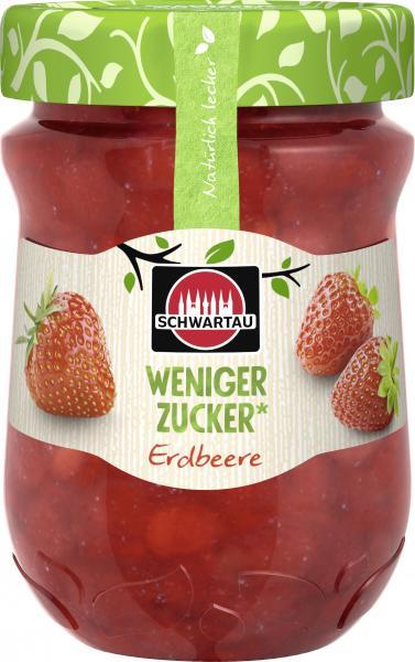 Schwartau Weniger Zucker Erdbeere