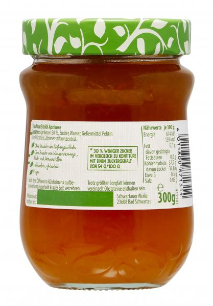 Schwartau Weniger Zucker Aprikose
