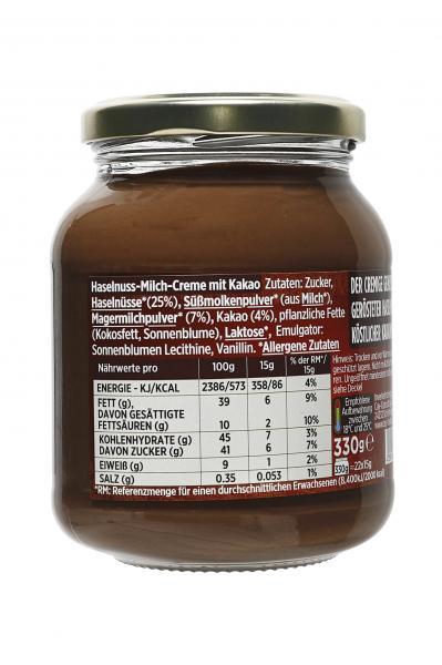 Cay Gourmet Haselnuss-Milchcreme mit Kakao