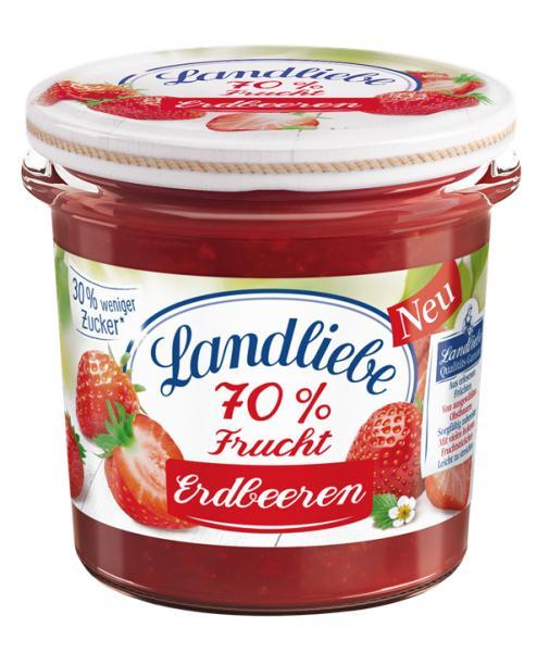 Landliebe 70% Frucht Erdbeere