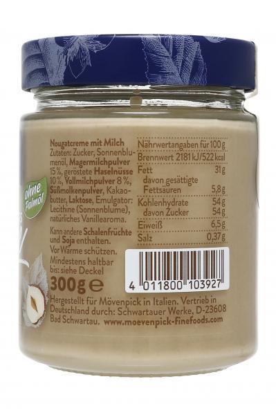 Mövenpick Haselnuss Crème Nuss & Milch