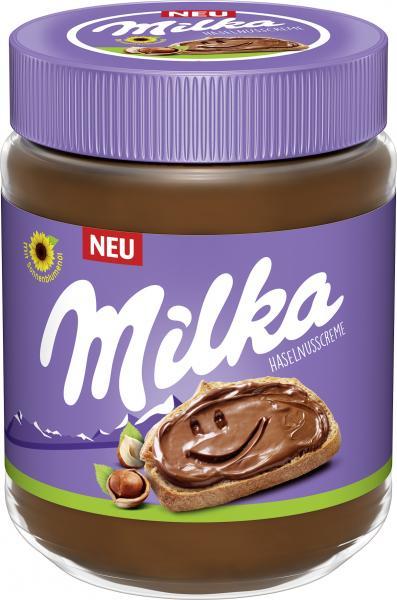 Milka Haselnusscreme
