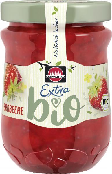Schwartau Extra Bio Erdbeere