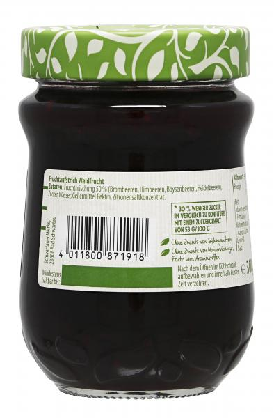 Schwartau Extra Weniger Zucker Waldfrucht