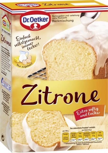 Dr. Oetker Zitronen Kuchen