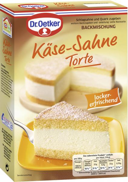 Dr. Oetker Käse-Sahne Torte