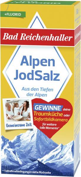 Bad Reichenhaller Jodsalz mit Fluorid