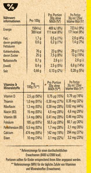 Nestlé Nesquik Knusper-Frühstück, Schoko Cerealien mit Vollkorn