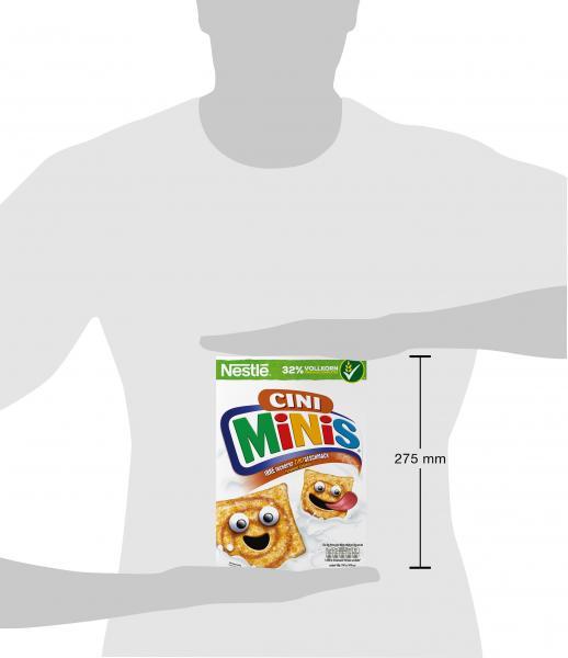Nestlé Cini Minis Cerealien mit Zimtgeschmack und Vollkorn