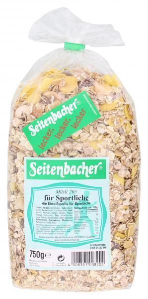 Seitenbacher Müsli 205 für Sportliche