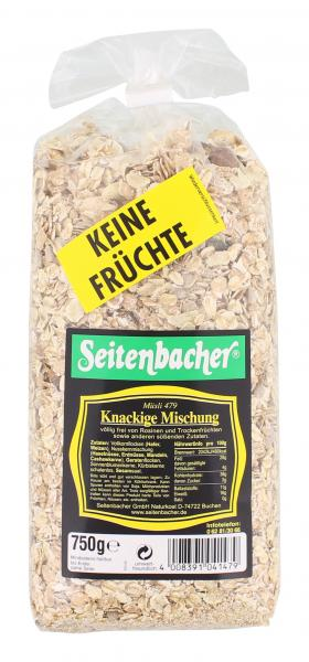 Seitenbacher Müsli 479 knackige Mischung