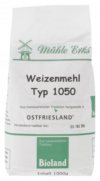 Mühle Erks Bioland Weizenmehl Type 1050