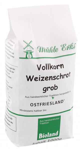 Mühle Erks Bioland Vollkorn Weizenschrot grob