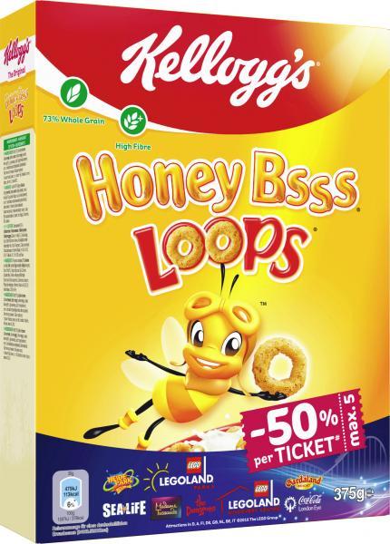 Kellogg's Honey Bsss Loops