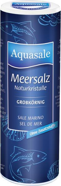 Aquasale Meersalz Naturkristalle grob