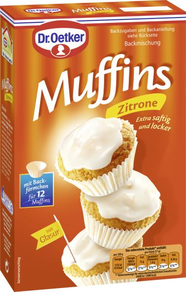 Dr Oetker Zitronen Muffins Online Kaufen Bei Mytime De