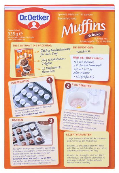 Dr. Oetker Schoko Muffins