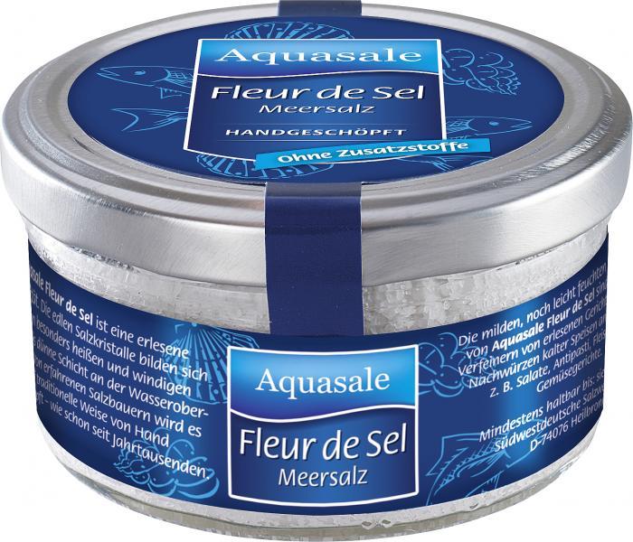 Aquasale Meersalz Fleur De Sel