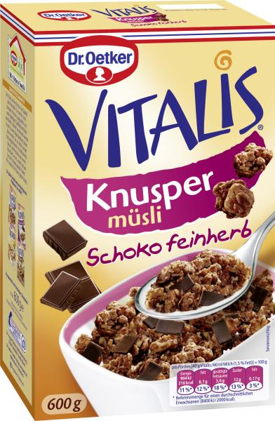 Dr. Oetker Vitalis Knusper Müsli Schoko feinherb