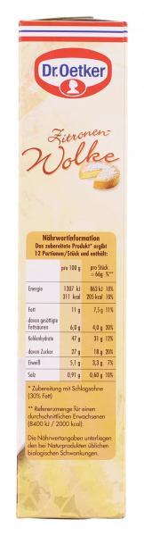 Dr. Oetker Zitronen-Wolke